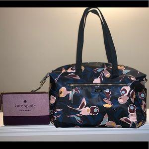 ❤️ KATE SPADE weekender duffle bag AND makeup bag